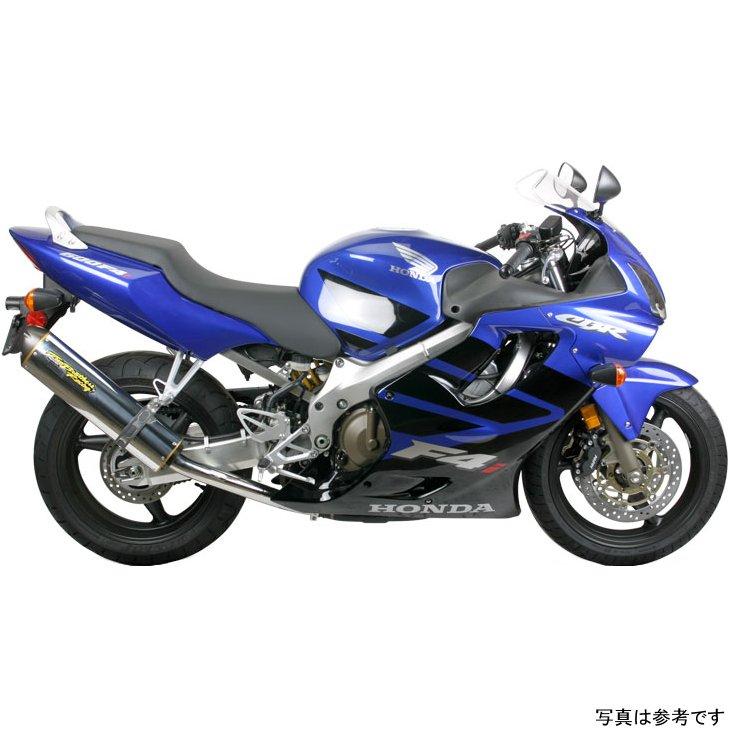 【USA在庫あり】 ツーブラザーズレーシング スリップオンマフラー ブラックシリーズ M-2 01年-07年 CBR600F4i カーボン 594003 HD