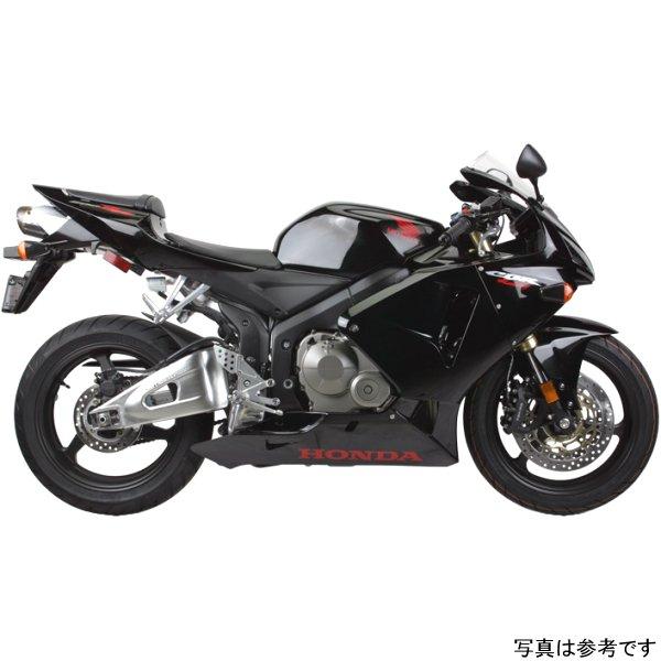 【USA在庫あり】 ツーブラザーズレーシング スリップオンマフラー ブラックシリーズ M-2 05年-06年 CBR600RR アルミ 594053 HD