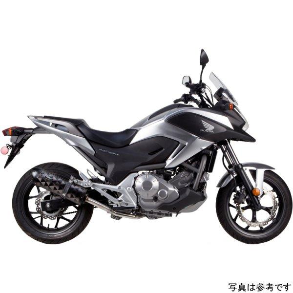 【USA在庫あり】 ツーブラザーズレーシング スリップオンマフラー ブラックシリーズ M-2 12年-15年 NC700X アルミ 594567 HD