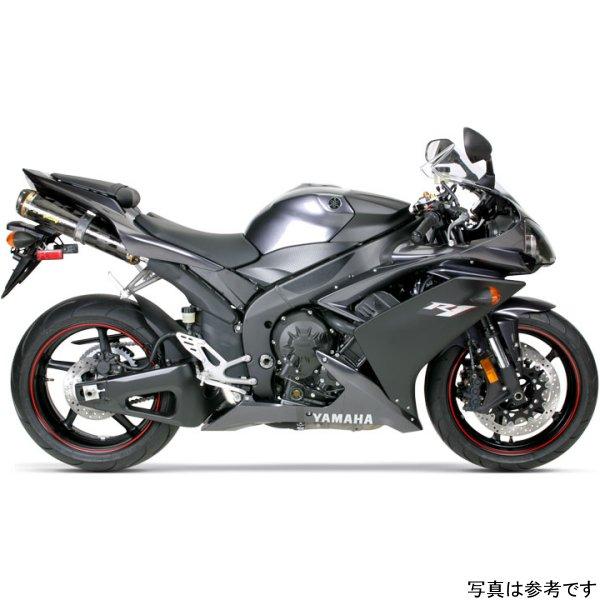 【USA在庫あり】 ツーブラザーズレーシング スリップオンマフラー ブラックシリーズ M-2 デュアル 07年-08年 YZF-R1 カーボン 594136 HD