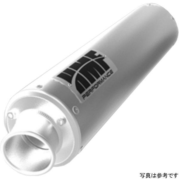 【USA在庫あり】 HMF エンジニアリング スリップオンマフラー パフォーマンス 02年-07年 LT-A500F、LT-F500F シルバー 086968 HD