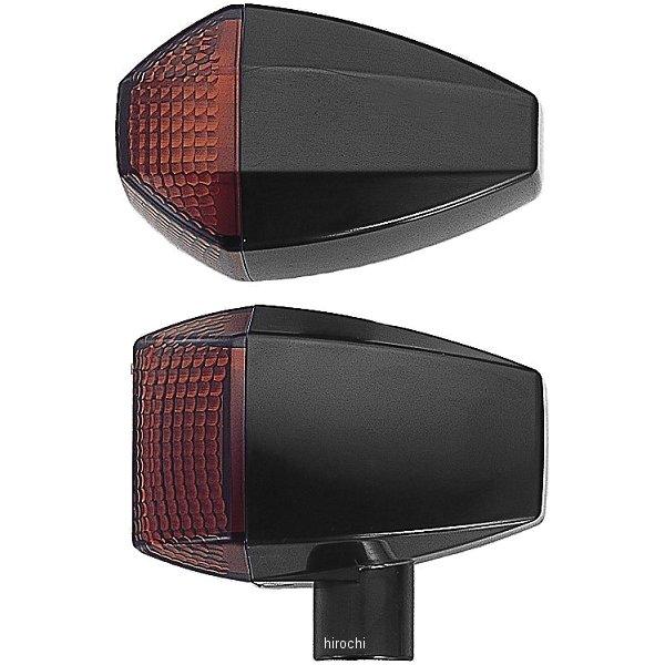 ポッシュ POSH LED ZRウインカーセット スタンダードタイプ 01年-03年 ZRX1200R、ZRX400 黒/オレンジ 071561-06 HD店