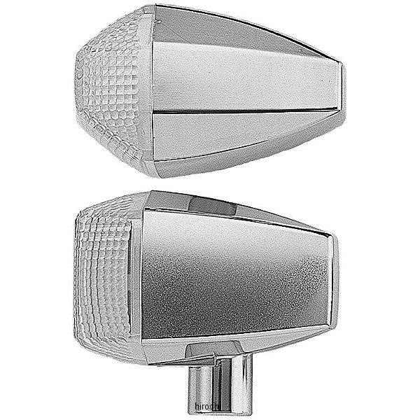 ポッシュ POSH LED ZRウインカーセット スタンダードタイプ 01年-03年 ZRX1200R、ZRX400 クローム/クリア 071562 HD店