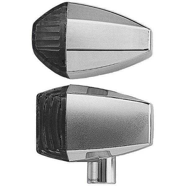 ポッシュ POSH LED ZRウインカーセット クリスタルタイプ 01年-03年 ZRX1200R、ZRX400 クローム/スモーク 071567 HD店