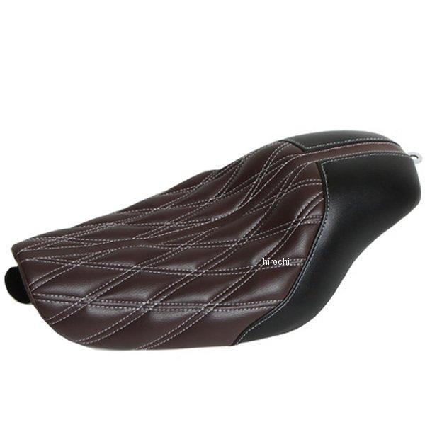 イージーライダース アーバンシングルガンファイターシート 04年以降 XL 黒/黒/白 ステッチ H0465 HD店