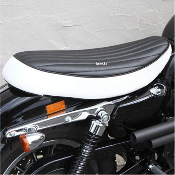 イージーライダース フラットダブルシート バーチカル タイプ3 04年以降 XL 黒/白 H0480 HD店