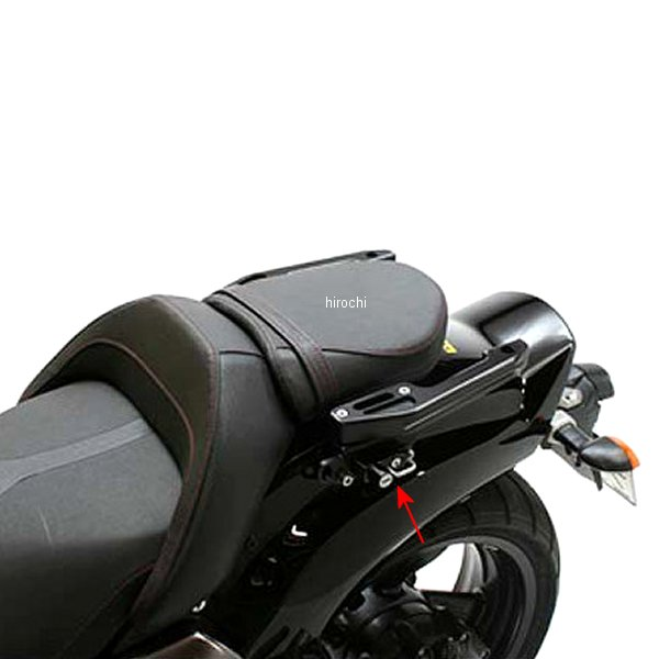 【メーカー在庫あり】 アクティブ ACTIVE アシストグリップ ヘルメットホルダー移設ステー付属 09年-12年 V-MAX1700 1990139 HD店
