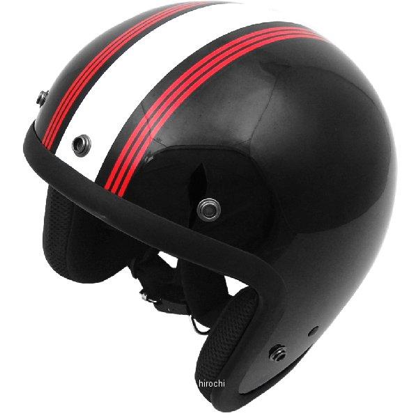 オージーケーカブト OGK Kabuto ヘルメット ラディック NX2 ブラックホワイトレッド 61-62cm未満 4966094539665 HD店