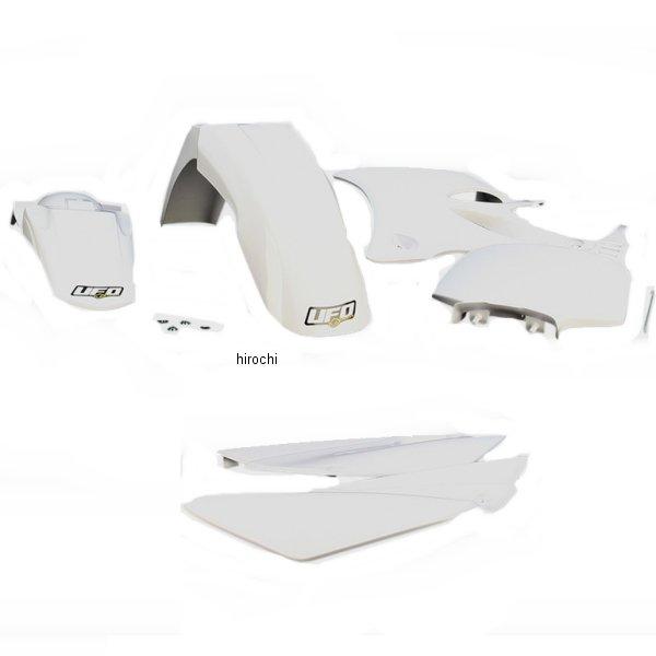 【USA在庫あり】 ユーフォープラスト UFO PLAST 外装キット 02年-12年 YZ85 白 1403-0930 HD店
