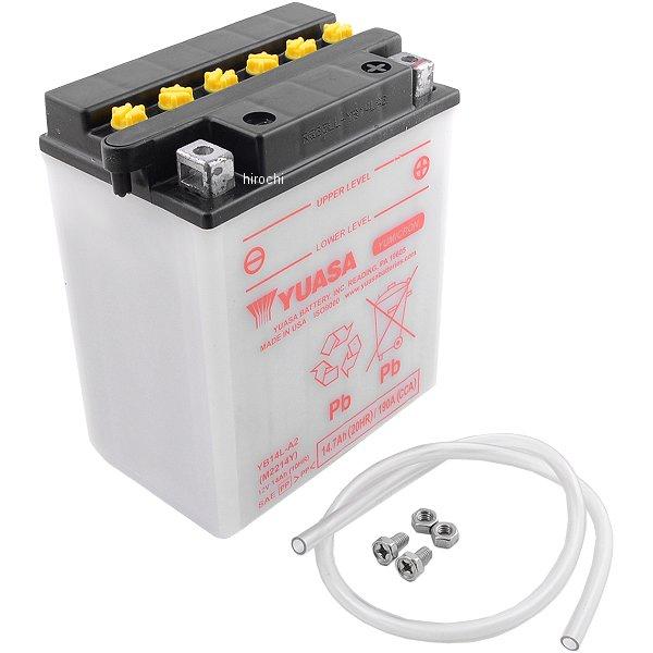 【USA在庫あり】 ユアサ YUASA バッテリー 開放型 YB14L-A2 HD店