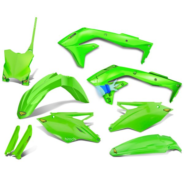 【USA在庫あり】 サイクラ CYCRA 外装キット 16年以降 KX450 蛍光緑 1403-1919 HD店