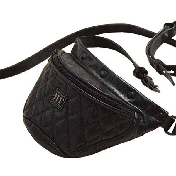 8494 カドヤ KADOYA ウエストバッグ GS-PTD 黒 Lサイズ 8494-0/BK/L HD店