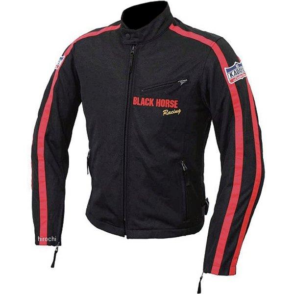 6545 カドヤ KADOYA ライディングジャケット BHR-CRM3 黒/赤 LLサイズ 6545-0/BK/RED/LL HD店