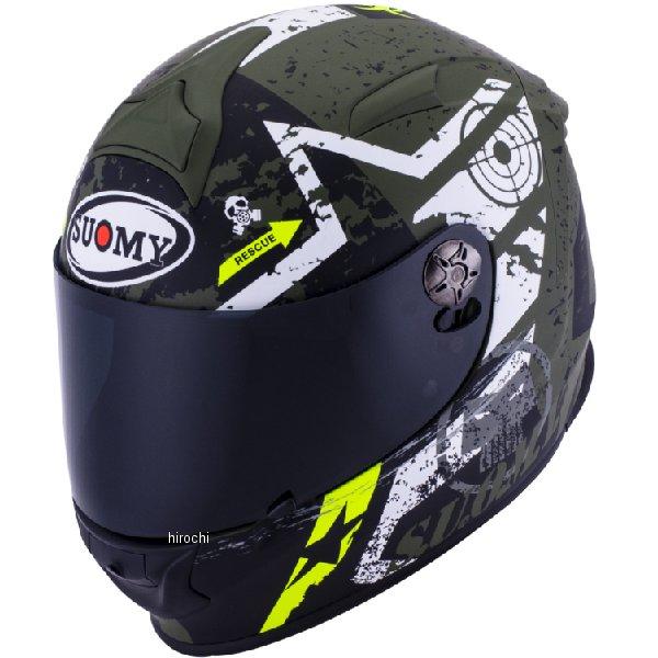 SR0023 スオーミー SUOMY フルフェイスヘルメット SR-SPORT スターズ ミリタリー Lサイズ(59cm-60cm) SSR002303 HD店