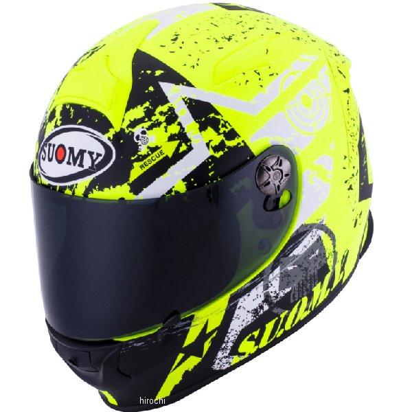 【メーカー在庫あり】 SR0024 スオーミー SUOMY フルフェイスヘルメット SR-SPORT スターズ 黄 Sサイズ(55cm-56cm) SSR002401 HD店