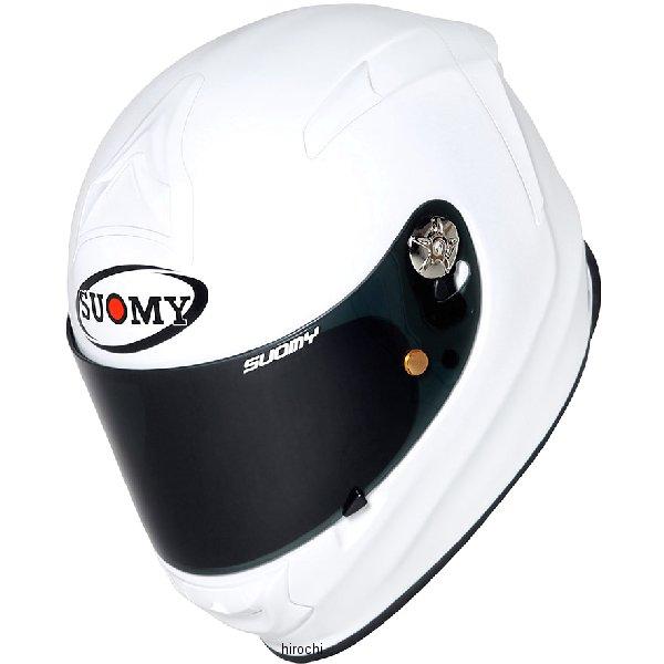 SR00W3 スオーミー SUOMY フルフェイスヘルメット SR-SPORT 白 Sサイズ(55cm-56cm) SSR00W301 HD店