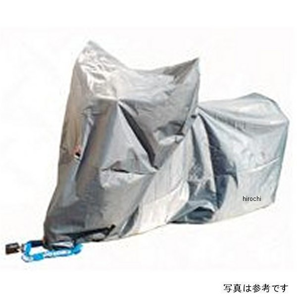 平山産業 透湿防水 テクノバイクカバー ロードバイク用 グレー Mサイズ (50-200cc) 4960724150305 HD店