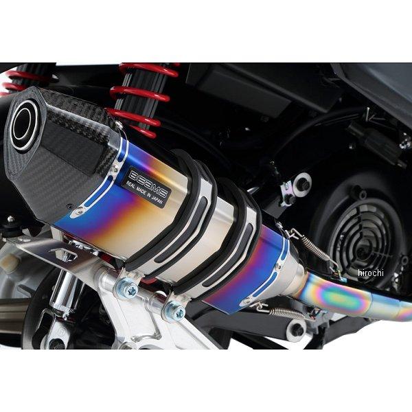 ビームス BEAMS フルエキゾースト CORSA-EVO2SP 08年以降 シグナスX 国内仕様 ヒートチタン G220-65-001 HD店