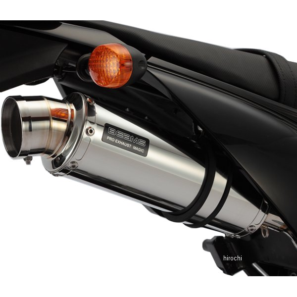 ビームス BEAMS スリップオンマフラー R-EVO 10年-15年 Dトラッカー125 ステンレス B412-53-008 HD店