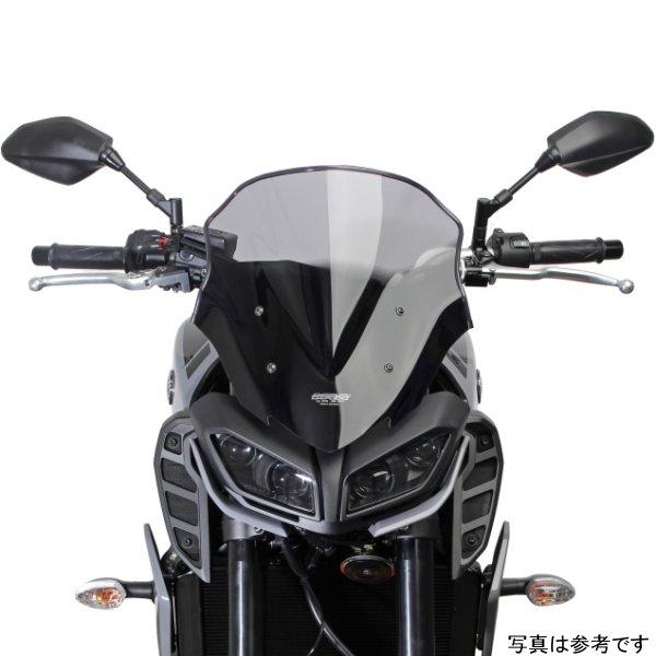 【メーカー在庫あり】 エムアールエー MRA スクリーン レーシング 17年 MT-09 黒 MR273K HD店