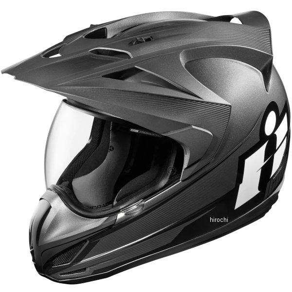 【USA在庫あり】 アイコン ICON フルフェイスヘルメット VARIANT DOUBLE STACK 黒 XLサイズ 0101-9993 HD店