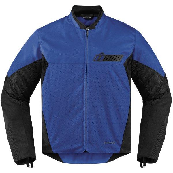 【USA在庫あり】 アイコン ICON 春夏モデル ジャケット KONFLICT 青 Sサイズ 2820-3883 HD店