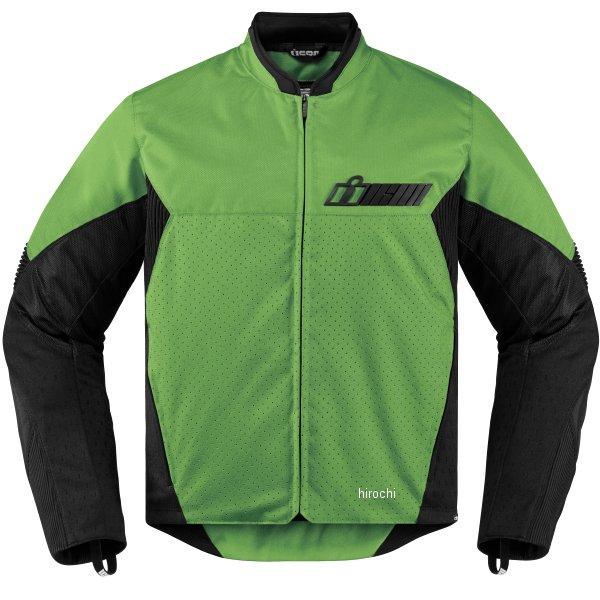 【USA在庫あり】 アイコン ICON 春夏モデル ジャケット KONFLICT 緑 Sサイズ 2820-3888 HD店