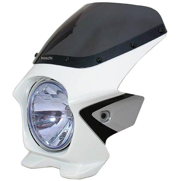 ブラスター BLUSTER2 ビキニカウル 08年 CB400SF Revo パールサンビームホワイト/シルバー(ツートン) 23141 HD店