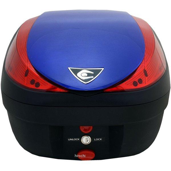 クーケース COOCASE リアボックス V28 フュージョン スペックF2 28L メタリックブルー CN26070 HD店