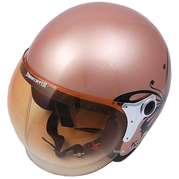 【メーカー在庫あり】 ダムトラックス DAMMTRAX ヘルメット NEW CHEER BUTTERFLY 女性用 茶 レディースサイズ(57cm-58cm) 4580184031299 HD店