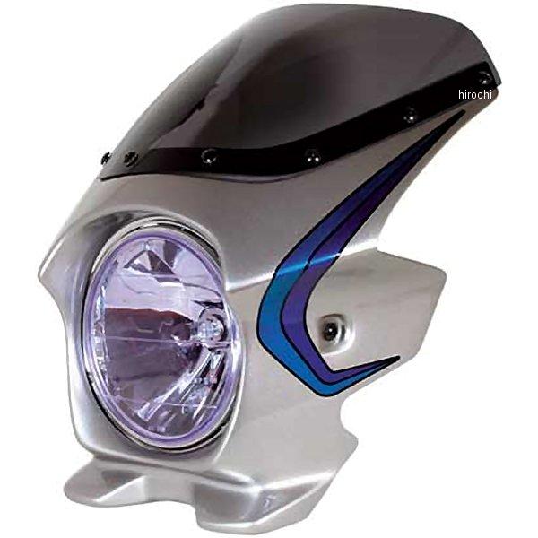 ブラスター BLUSTER2 ビキニカウル 04年 XJR1300 シルバー3 (ストライプ) 20008 HD店