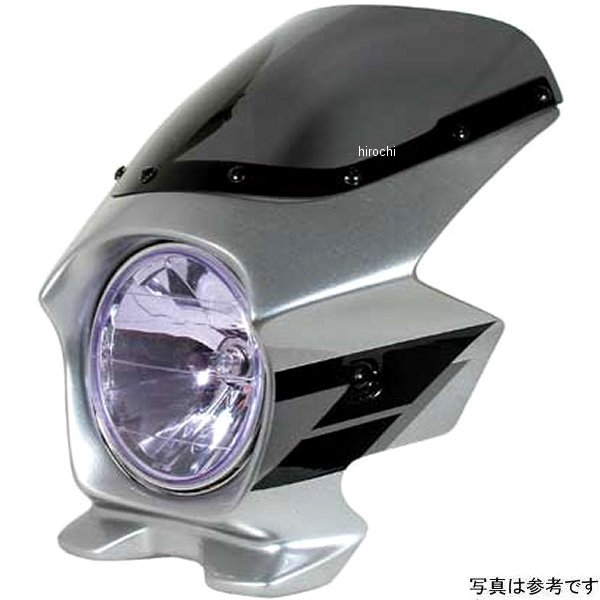 ブラスター BLUSTER2 ビキニカウル 04年 CB400SF H-V Spec3 デジタルシルバーメタリック エアロ 93113 HD店
