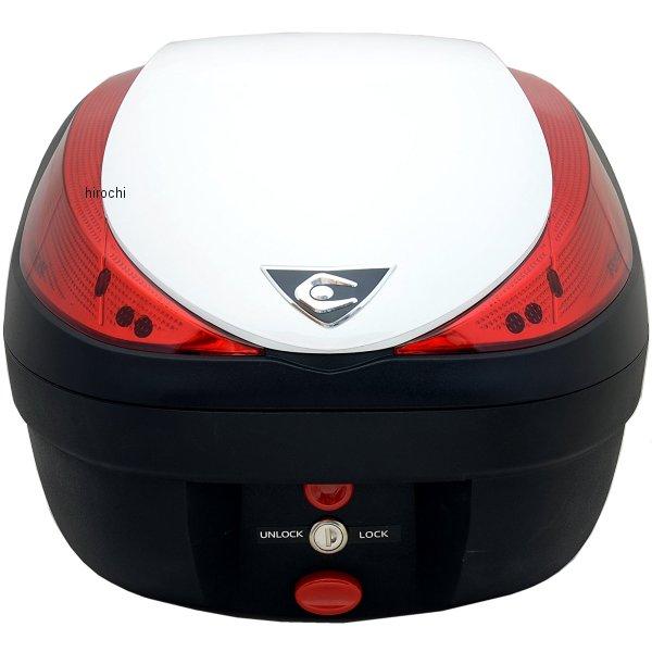 クーケース COOCASE リアボックス V28 フュージョン ベーシック 28L パールホワイト CN20110 HD店