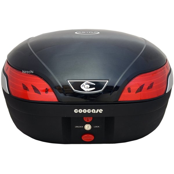クーケース COOCASE リアボックス S48 アストラSL 48L メタリックブラック CN45010 HD店
