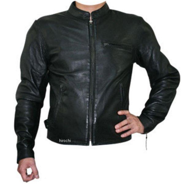 モトフィールド MOTO FIELD シープパンチングレザージャケット 黒 3Lサイズ MF-LJ011PN HD店