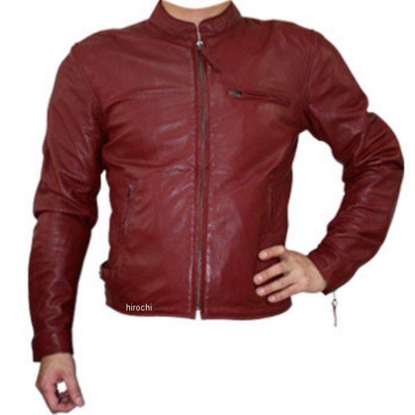 モトフィールド MOTO FIELD シープパンチングレザージャケット ワインレッド LLサイズ MF-LJ011PN HD店