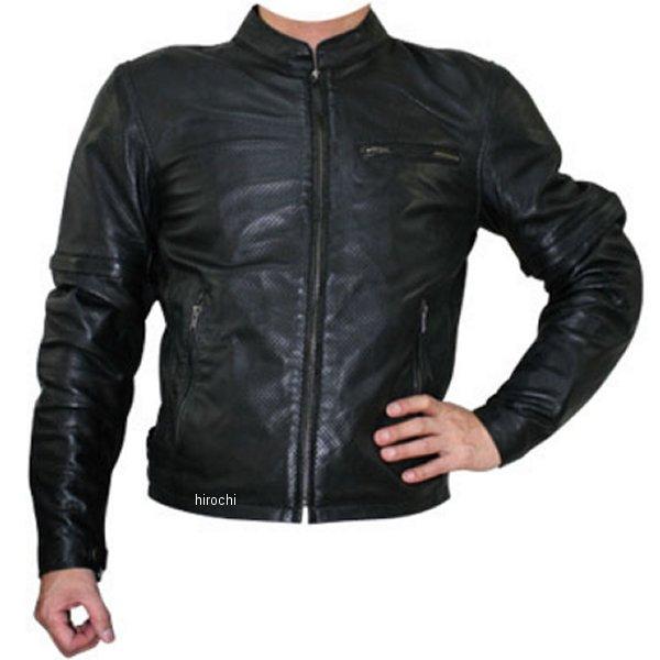モトフィールド MOTO FIELD シープパンチングレザージャケット 黒 Mサイズ MF-LJ013P HD店