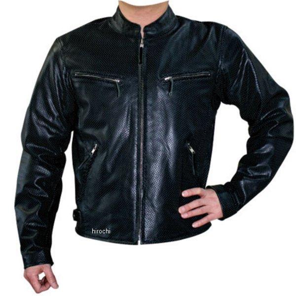 モトフィールド MOTO FIELD パンチングシングルレザージャケット 黒 3Lサイズ MF-LJ006PN HD店