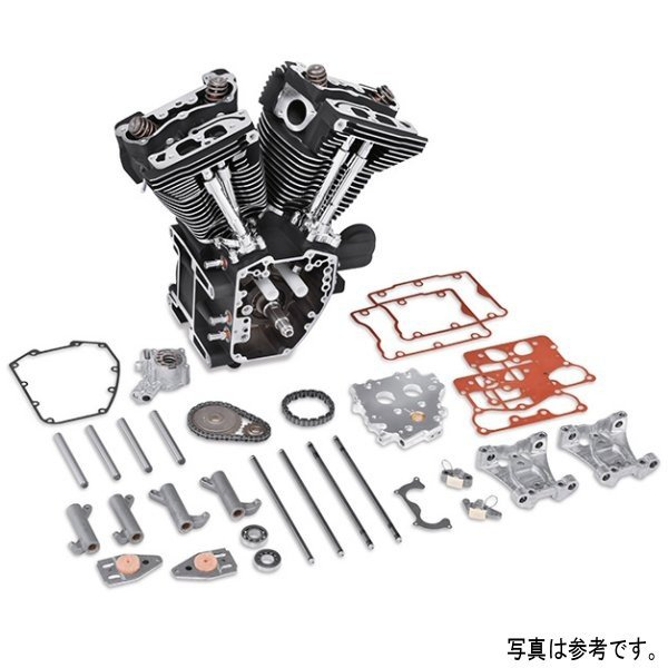 【USA在庫あり】 ハーレー純正 スクリーミンイーグル ロングブロックエンジン Twin Cam 96 シルバー 16200102 HD店