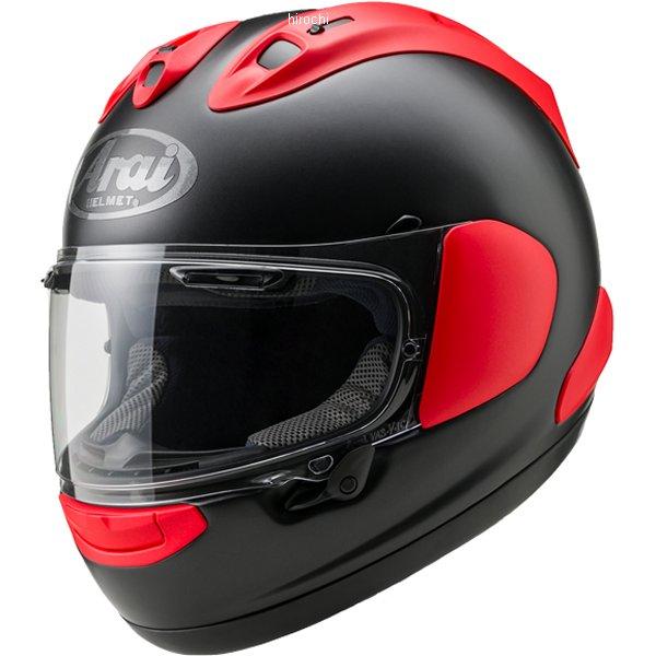 【メーカー在庫あり】 山城×アライ ヘルメット RX-7X フラットブラック/赤 XLサイズ(61-62cm) 4530935469758 HD店