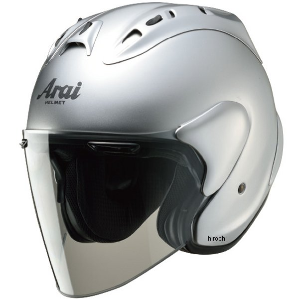 ホンダ純正 春夏モデル Honda×Arai ジェットヘルメット SZ-Ram4 デジタルシルバーメタリック Mサイズ 0SHGK-JRA4-S HD店