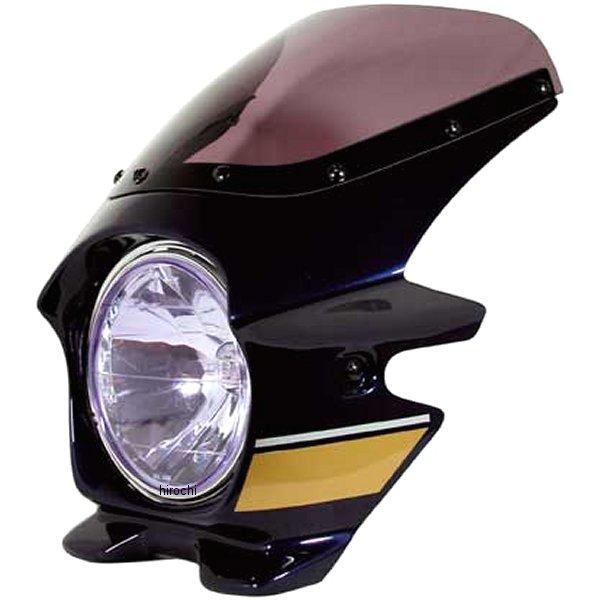 ブラスター BLUSTER2 ビキニカウル ゼファー1100 メタリックノクターンブルー (ストライプ) 21201 HD店