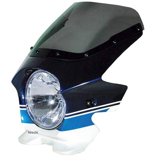 ブラスター BLUSTER2 ビキニカウル 05年 GSX1400 スズキディープブルーNO2/グラススプラッシュホワイト エアロ 93230 HD店