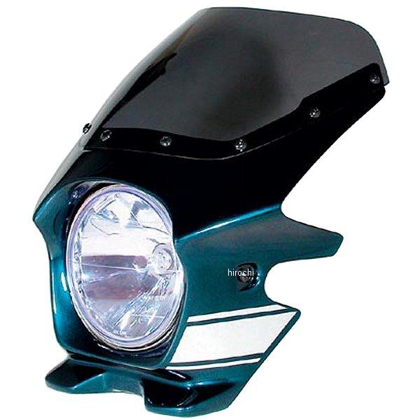 ブラスター BLUSTER2 ビキニカウル 06年 ゼファー1100 メタリックオーシャンブルー (ストライプ) エアロ 91208 HD店