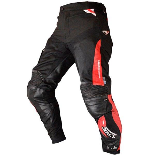 シールズ SEAL'S 春夏モデル コンプレックス メッシュパンツ ブーツイン 赤/黒 Lサイズ SLP-321 HD店