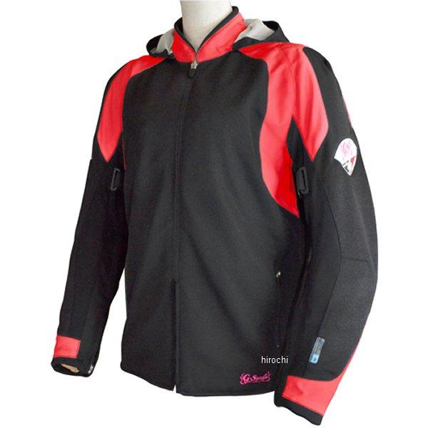 シールズ SEAL'S 春夏モデル メッシュジャケット レディース 赤/黒 Mサイズ SLB-642W HD店