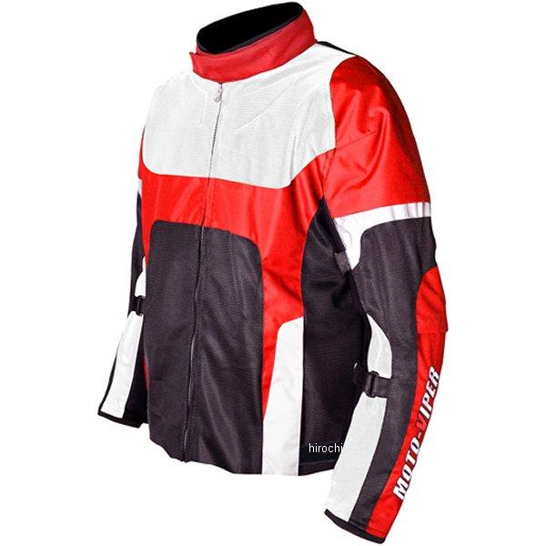 モトバイパー Moto-Viper 春夏モデル GAL-NE メッシュジャケット 赤 3Lサイズ MV-65 HD店