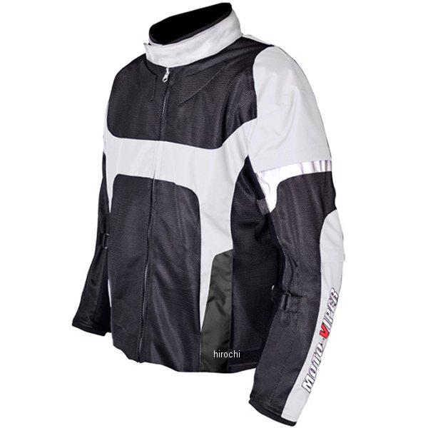 モトバイパー Moto-Viper 春夏モデル GAL-NE メッシュジャケット 白 3Lサイズ MV-65 HD店