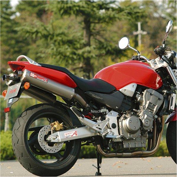 ヤマモトレーシング スリップオンマフラー ホーネット900 チタン チタン 10903-02NTB HD
