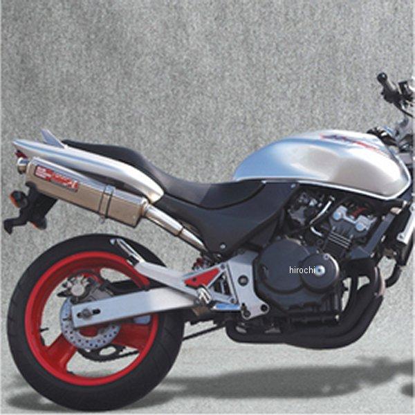 ヤマモトレーシング スリップオンマフラー ホーネット250 SINGLE TYPE-S チタン 10259-01NTN HD